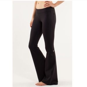Lululemon Wanderful Flare Pants Back Pockets